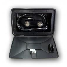 External Shower Box Black
